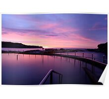 Sunrise - Malabar Baths Poster