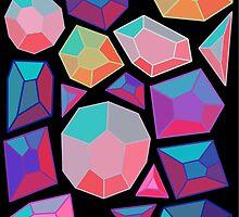 Gemstone Pattern Version One by bacibella