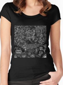 BEYOND THE CEMETARY Women's Fitted Scoop T-Shirt