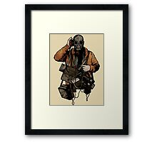 The Listener Framed Print