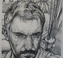 Autoportrait dans le jardin by dominique
