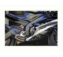 Yamaha R6 Art Print