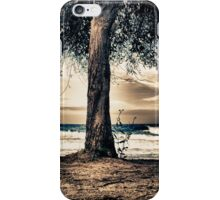 the cat and the sea iPhone Case/Skin