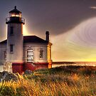 oregon light house hdr by Jeannie Peters
