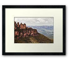 The Amazing Three Sisters Framed Print
