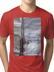 Water drops abstract 3 Tri-blend T-Shirt