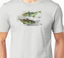 Haddock & Cod illustration Unisex T-Shirt