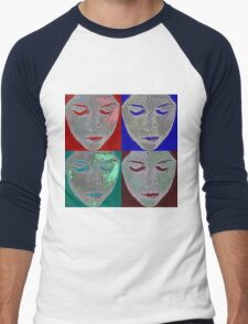 the mask Men's Baseball ¾ T-Shirt