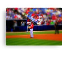 Chipper Jones Atlanta Braves 05/16/10 Canvas Print