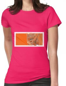 giving you the finger Womens Fitted T-Shirt