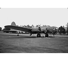 B17 Flying Fortress Photographic Print