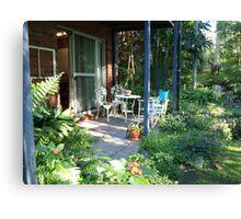 Garden Studio Entrance Canvas Print