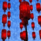 Hanging Lanterns (1) by j0sh