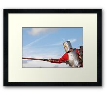 Charging Ahead Framed Print