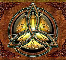 Celtic Triquetra by Bluesax