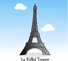 Eiffel Tower by elledeegee