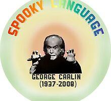 George Carlin Comedian Atheism by emetees