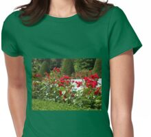 Red Roses Singing of Summer Womens Fitted T-Shirt