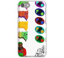 Pro Era Flatbush Zombies Collab Trippy Colours iPhone Case/Skin