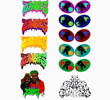Pro Era Flatbush Zombies Collab Trippy Colours Unisex T-Shirt