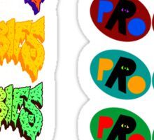 Pro Era Flatbush Zombies Collab Trippy Colours Sticker