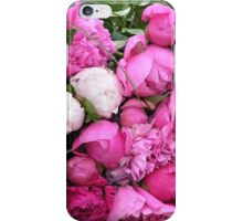 Lyon - Peonies for sale iPhone Case/Skin
