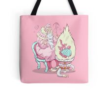 Old wizzard. Magic science Tote Bag