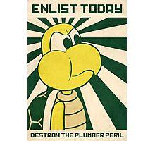Enlist today Photographic Print