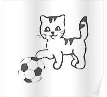 Portlandia Meow-Meow-Meow Byaaay Timberwolves Threads Poster
