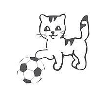 Portlandia Meow-Meow-Meow Byaaay Timberwolves Threads Photographic Print