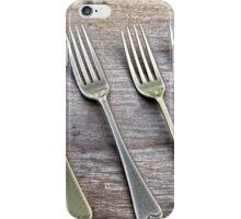 Shining Old forks... iPhone Case/Skin