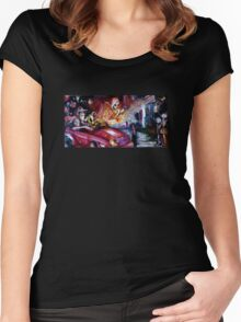 Sunset Strip Women's Fitted Scoop T-Shirt