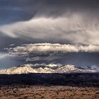 Manti La Sal Storm by rjcolby