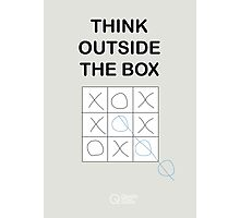 Think Outside the Box Photographic Print
