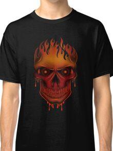 Flame Skull (2) Classic T-Shirt