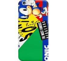 Sonic The Hedgehog 4 iPhone Case/Skin