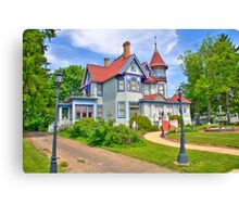 Kurth Mansion Canvas Print