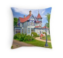Kurth Mansion Throw Pillow