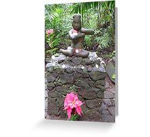 Olmec Goddess   Greeting Card