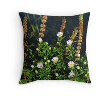 Waterside Plants Throw Pillow