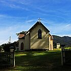 Church in Tilba Tilba by Evita