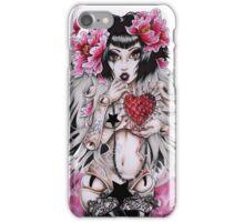 porcelan heart iPhone Case/Skin