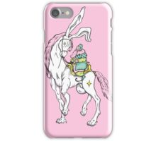 Old wizzard. Magic horse rider iPhone Case/Skin
