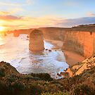 Twelve Apostles Sunset, Great Ocean Road, Australia by Michael Boniwell