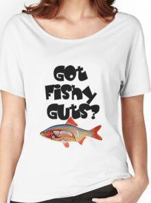 Black Got fishy guts Women's Relaxed Fit T-Shirt