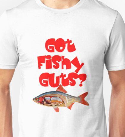 Red Got fishy guts Unisex T-Shirt