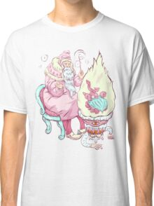 Old wizzard. Magic science Classic T-Shirt