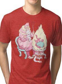 Old wizzard. Magic science Tri-blend T-Shirt