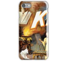 Harry Kellar Magician Vintage Poster Restored iPhone Case/Skin