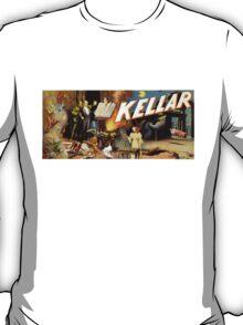Harry Kellar Magician Vintage Poster Restored T-Shirt